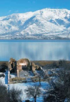Small Prespa and St. Achilleus island